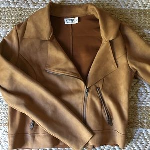 Camel colored jacket